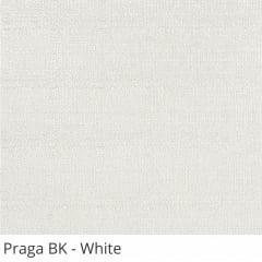 Cortina Rolô Branca Tecido Blackout Coleção Praga Cor White