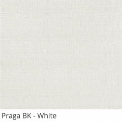 Cortina Rolô Blackout Tecido Praga Branca White