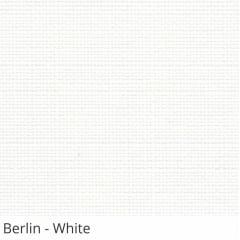 Cortina Rolô Branca Tecido Translúcido Coleção Berlin Cor White