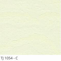 Persiana Vertical Branca Tecido Blackout Coleção TJ-1054 Cor C