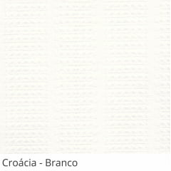 Persiana Vertical Branca Tecido Translúcido Coleção Croácia Cor Branco