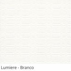 Persiana Vertical Branca Tecido Translúcido Coleção Lumiere Cor Branco