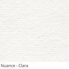 Persiana Vertical Branca Tecido Translúcido Coleção Nuance Cor Clara