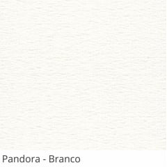 Persiana Vertical Branca Tecido Translúcido Coleção Pandora Cor Branco