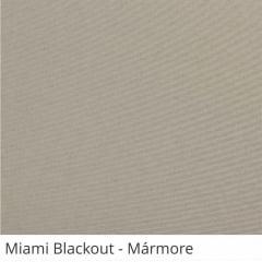 Cortina Rolô Cinza Tecido Blackout Coleção Miami Cor Mármore