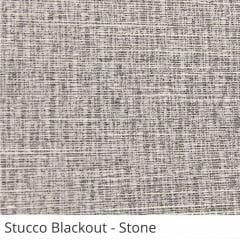Cortina Rolô Cinza Tecido Blackout Coleção Stucco Cor Stone