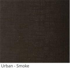 Persiana Vertical Cinza PVC Coleção Urban Cor Smoke