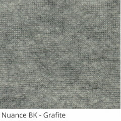 Persiana Vertical Cinza Tecido Blackout Coleção Nuance Cor Grafite