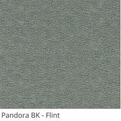 Persiana Vertical Cinza Tecido Blackout Coleção Pandora Cor Flint
