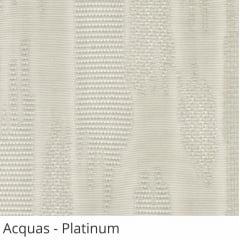 Persiana Vertical Cinza Tecido Translúcido Coleção Acquas Cor Platinum