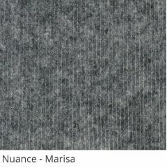 Persiana Vertical Cinza Tecido Translúcido Coleção Nuance Cor Marisa