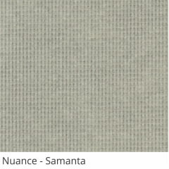 Persiana Vertical Cinza Tecido Translúcido Coleção Nuance Cor Samanta