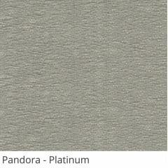 Persiana Vertical Cinza Tecido Translúcido Coleção Pandora Cor Platinum