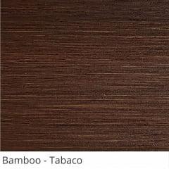 Persiana Horizontal Madeira Coleção Bamboo 50mm Cor Tabaco