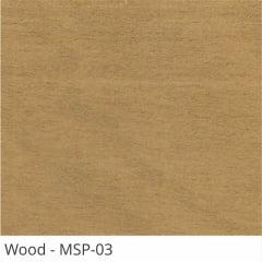 Persiana Horizontal Madeira Coleção Sintética 50mm Com Pintura Especial Wood Cor MSP-03