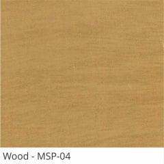 Persiana Horizontal Madeira Coleção Sintética 50mm Com Pintura Especial Wood Cor MSP-04