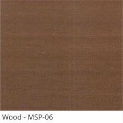 Persiana Horizontal Madeira Coleção Sintética 50mm Com Pintura Especial Wood Cor MSP-06