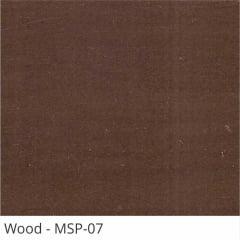 Persiana Horizontal Madeira Coleção Sintética 50mm Com Pintura Especial Wood Cor MSP-07
