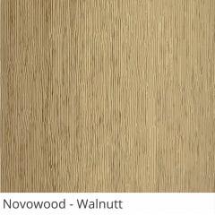 Persiana Vertical Madeira Walnutt PVC Coleção Novowood