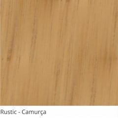 Persiana Vertical PVC Coleção Rustic Madeira Cor Marrom Camurça