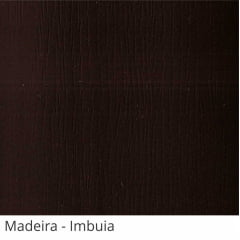Persiana Vertical Marrom Imbuia PVC Coleção Madeira