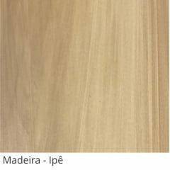 Persiana Vertical Marrom Ipe PVC Coleção Madeira