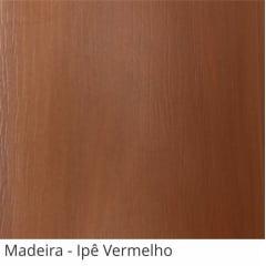 Persiana Vertical Marrom Ipe Vermelho PVC Coleção Madeira