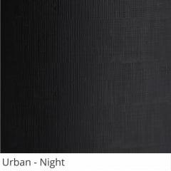 Persiana Vertical Preta PVC Coleção Urban Cor Night