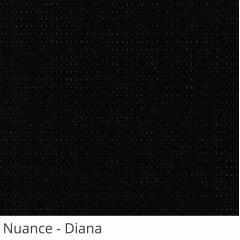Persiana Vertical Preta Tecido Translúcido Coleção Nuance Cor Diana