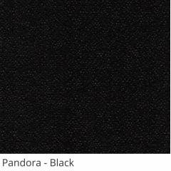 Persiana Vertical Preta Tecido Translúcido Coleção Pandora Cor Black