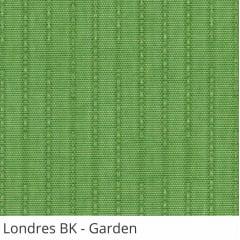 Persiana Vertical Verde Tecido Blackout Coleção Londres Cor Garden