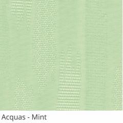 Persiana Vertical Verde Tecido Translúcido Coleção Acquas Cor Mint