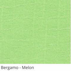 Persiana Vertical Verde Tecido Translúcido Coleção Bergamo Cor Melon