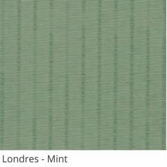 Persiana Vertical Verde Tecido Translúcido Coleção Londres Cor Mint