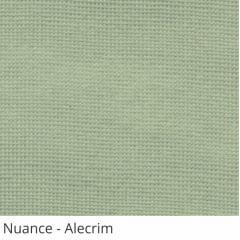 Persiana Vertical Verde Tecido Translúcido Coleção Nuance Cor Alecrim