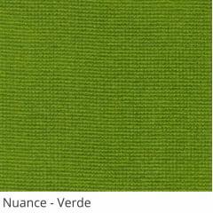 Persiana Vertical Verde Tecido Translúcido Coleção Nuance Cor Verde