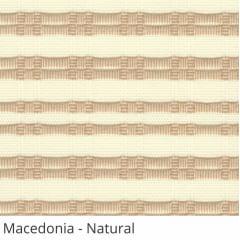 Persiana Vertical Natural Tecido Translúcido Coleção Macedonia Cor Natural