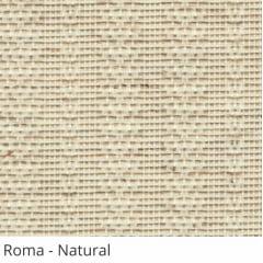 Persiana Vertical Natural Tecido Translúcido Coleção Roma Cor Natural